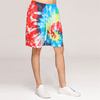 Custom Mens French Terry Colorful Tie Dye Sweat Shorts