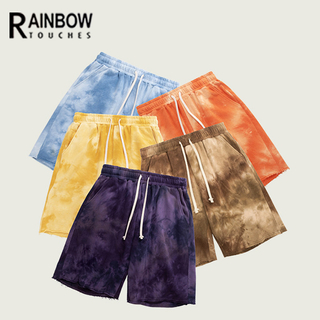 Custom Mens Tie Dye Sweat Shorts